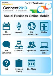 Social Business Online 2013 Mobile Site